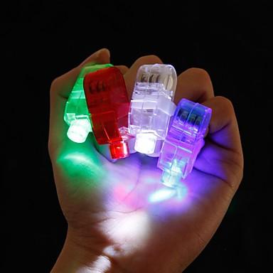 4 Peças Luz de Dedo LED Super Leve LED Moderno/Contemporâneo