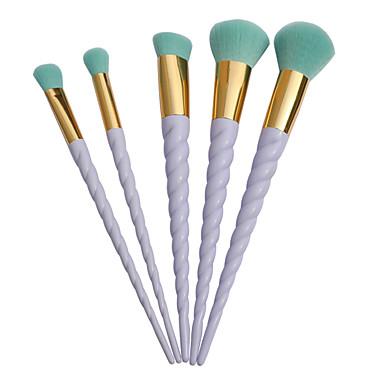 5pcs Profesjonell Makeup børster Børstesett Kunstig fiber børste / Syntetisk hår Bærbar / Profesjonell / Begrenser bakterier Plast 18 *