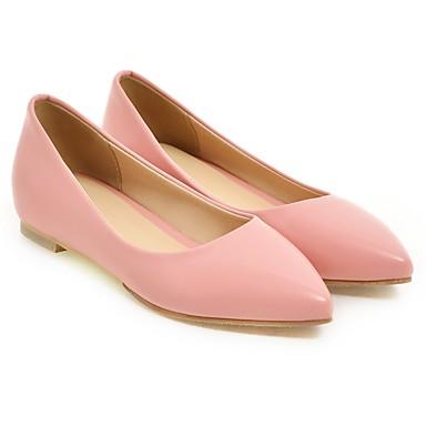 05512638 Dedo Tacón Puntiagudo Confort Fruncido Zapatos Paseo Azul Primavera Verano Bailarinas Rojo Mujer Rosa Semicuero Plano w0FZzqSxRx