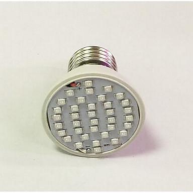260-312lm E26 / E27 Growing Light Bulb 36 Cuentas LED Azul Rojo 85-265V
