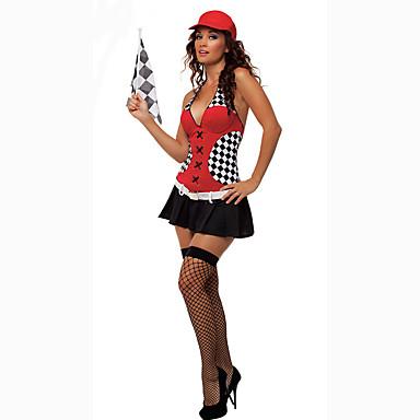 Cosplay Kostüme Party Kostüme Cheerleader-Kostüme Karriere Kostüme Film Cosplay Kleid Gürtel Halloween Karneval Frau