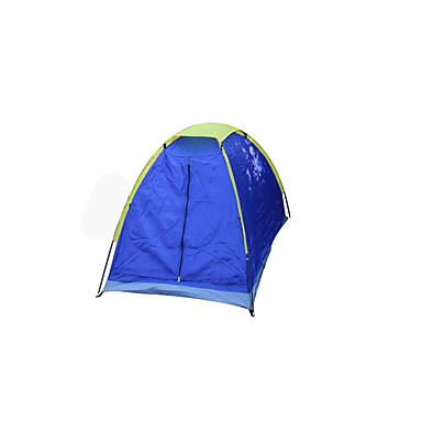1人 テント シングル キャンプテント 1つのルーム 防水 携帯用 防風 防塵 折り畳み式 通気性 長方形 蚊・虫除け のために 釣り ビーチ キャンピング 旅行 屋外 グラスファイバー cm