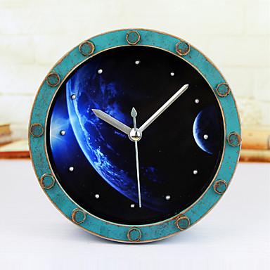 kreativen Planeten Wecker Tischuhr Schreibtisch Wecker Tischuhr kreative Heimat dekorative Art und Weise stumm Uhren