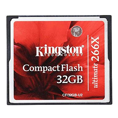 Kingston 32GB Compact Flash  CF Card cartão de memória Ultimate 266x