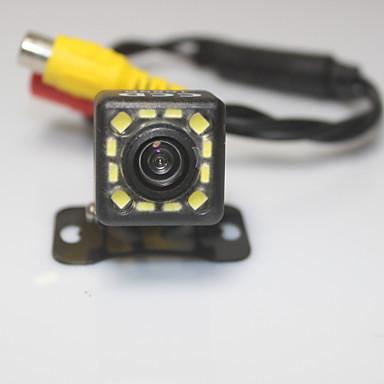 asistente de aparcamiento cámara de visión trasera del coche sistema de 1080p 12 LED HD CCD retrovisor revertir la cámara de reserva