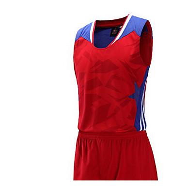 Herrn Ärmellos Laufen Kleidungs-Sets/Anzüge Atmungsaktiv Rasche Trocknung Komfortabel Frühling Sommer Herbst SportbekleidungFreizeit