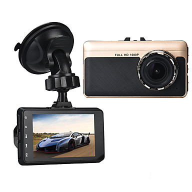 A15 1080p Car DVR 140 Degree Wide Angle 3 inch Dash Cam with G-Sensor / Parking Monitoring / motion detection No Car Recorder / Loop recording / auto on / off / Built-in microphone / Built-in speaker