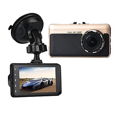 A15 1080p Autós DVR 140 fok Nagylátószögű 3 hüvelyk Dash Cam val vel G-Sensor / Parkolás mód / Mozgásérzékelés Nem Autós felvevő / Loop felvétel / auto on / off / Beépített mikrofon / Fénykép