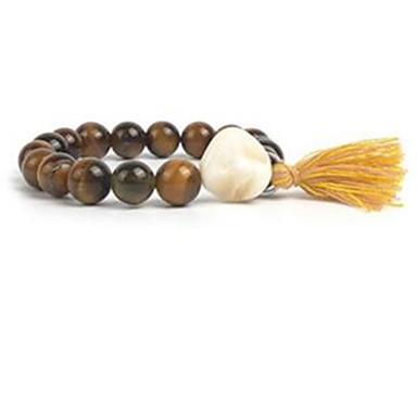 Damen Strang-Armbänder Perlenbesetzt Edelstein Perle Hülle Schmuck Normal