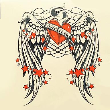 1kpl halloween tatuointi tahna väri tatuointi tarroja suurempi versio vedenpitävä eläin 003 #