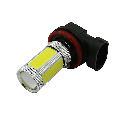 SO.K 2pcs H11 Carro Lâmpadas 4 W COB 600 lm LED Luz Anti Neblina