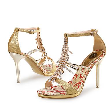 05561903 club Chaussures Femme Soirée Soirée Soirée Mariage amp; Or Aiguille 8190eb
