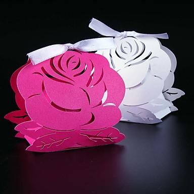 Creativo Papel perlado Soporte para regalo  con Cintas Cajas de regalos