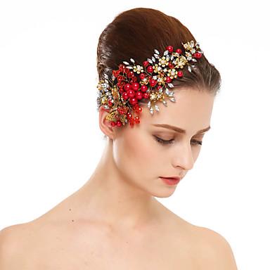Perla Artificial / Brillante Flores con 1 Boda / Ocasión especial Celada
