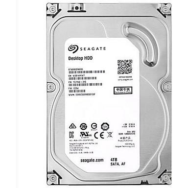 Seagate 4TB Área de trabalho do disco rígido 5400rpm SATA 3.0 (6Gb / s) 64MB esconderijo 3.5 polegadas-ST4000DM000