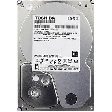 Toshiba 1TB Escritorio unidad de disco duro 7200rpm SATA 3.0 (6 Gb / s) 32MB Cache 3.5 pulgadas-DT01ACA100