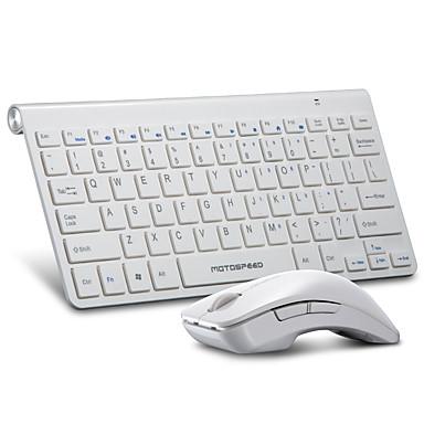 لاسلكي لوحة المفاتيح الماوس التحرير والسرد صغير بطارة AA لوحة المفاتيح مكتب