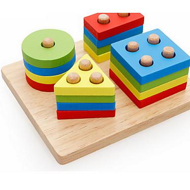 Montessori læringsleker Pedagogisk leke Utdanning Originale Tre Jente Gave