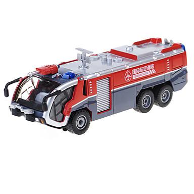 Brannbil Leketrucker og byggebiler Lekebiler 01:50 Inntrekkbar Metallisk Plast ABS 1pcs Gutt Barne Leketøy Gave