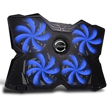 Fn-30 kannettava sininen led valo voimakas kannettava jäähdytys pad jäähdyttimen matto 15-17 tuuman kannettava MacBookit