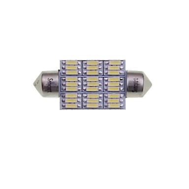 رخيصةأون مصابيح أضواء السيارة الداخلية-SENCART 2pcs 41mm / 39mm سيارة لمبات الضوء 4W SMD 3014 380-450lm 27 أضواء الداخلية