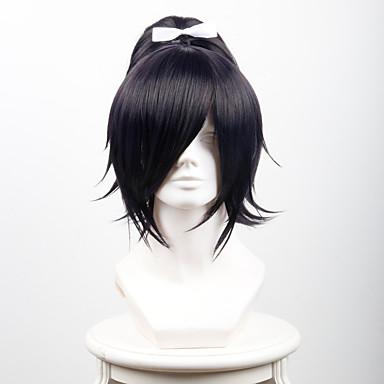 الاصطناعية الباروكات مستقيم شعر مستعار صناعي أسود شعر مستعار للمرأة قصير / متوسط / طويل دون غطاء