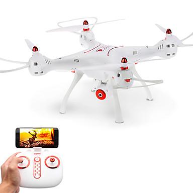 RC Drone SYMA X8SW 4 Kanaler 6 Akse 2.4G Med HD-kamera Fjernstyrt quadkopter FPV / LED Lys / En Tast For Retur Fjernstyrt Quadkopter /