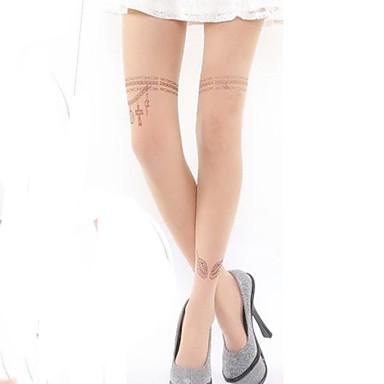Ciorapi strâmți, lungi Șosete / ciorapi Lolita dulce Lănțișor lolita Dame Lolita Accesorii Imprimeu Cu bijuterii Șosete Catifea