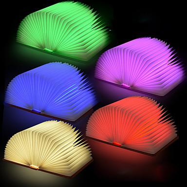 1 Pça. LED Night Light Smart Recarregável Moderno/Contemporâneo