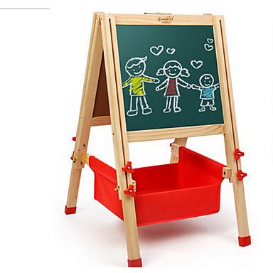 Недорогие Игрушка для обучения чтению-Danniqite Игрушка для рисования Игрушечные планшеты для рисования Магнитная мольберт Магнитный Дерево Игрушки Подарок