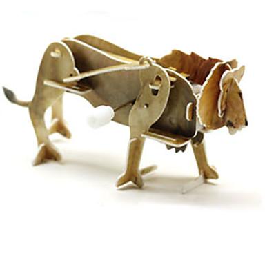 voordelige 3D-puzzels-3D-puzzels / Legpuzzel Dinosaurus / Leeuw Dieren 1 pcs Kinderen Geschenk