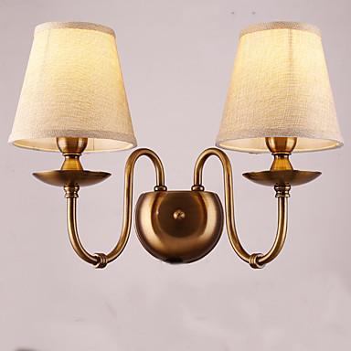 Traditionel / Klassisk Vegglamper Metall Vegglampe 220V 40W