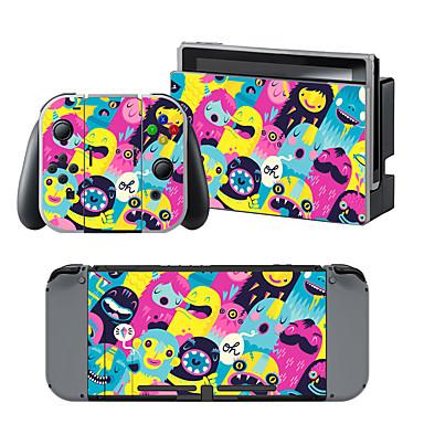 B-SKIN Nintendo Switch / NS Klistremerke Til Nintendo Switch ,  Bærbar / Originale Klistremerke Vinyl 1 pcs enhet