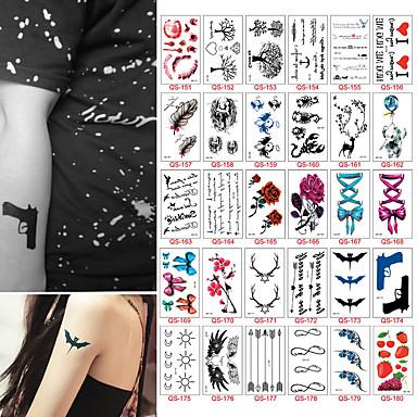 30 Naklejki Z Tatuażem Inne Non Toxicdziecko Dziecięce