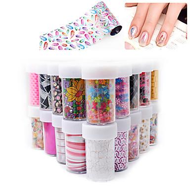 1Pcs Nail Art matrica Szeretetreméltő smink Kozmetika Nail Art Design
