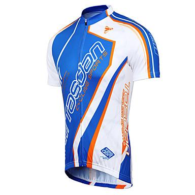 TASDAN Herrn Kurzarm Fahrradtrikot Fahhrad Trikot/Radtrikot Kleidungs-Sets, Rasche Trocknung, Atmungsaktiv, Schweißableitend