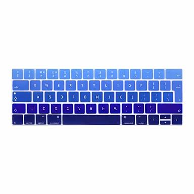 xskn® pele gradiente Inglês teclado de silicone europeu e protetor barra de toque para 2016 mais novo MacBook Pro de 13,3 / 15,4 com