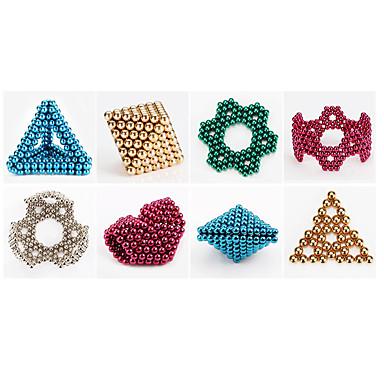 1000 pcs 6mm Brinquedos Magnéticos Bolas Magnéticas / Blocos de Construir / Cubo de quebra-cabeça Imã Crianças Dom