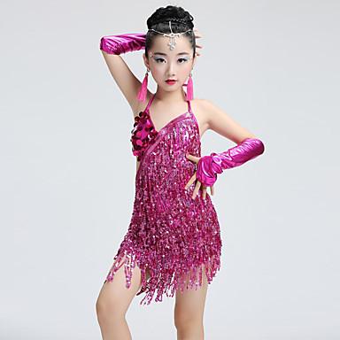 Performance Dress Children Dance Latin Shall Pieces Dresses We 6 wpqznBfvx