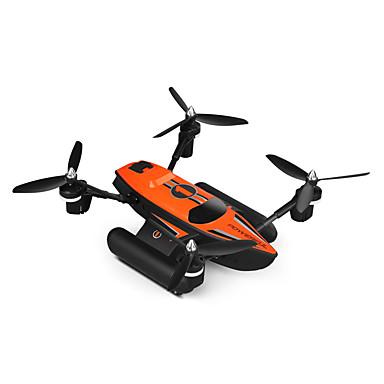 RC Drone WLtoys Q353 4CH 6 Eixos 2.4G Quadcópero com CR Luzes LED / Retorno Com 1 Botão / Auto-Decolagem Quadcóptero RC / Controle Remoto / Chave de Fenda / Modo Espelho Inteligente / Flutuar / CE