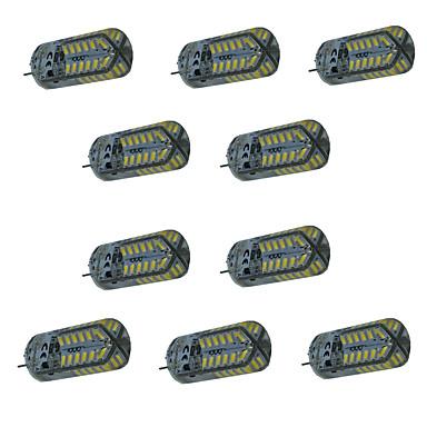 G4 Luminárias de LED  Duplo-Pin T 48 SMD 3014 140-160 lm Branco Quente Branco Frio Branco Natural 3000-6000 K Impermeável Decorativa V