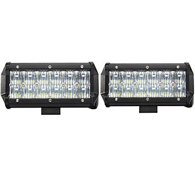 2pcs سيارة لمبات الضوء 60W LED أداء عالي / COB / Integrated LED 6000lm LED ضوء العمل