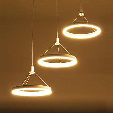 OYLYW 3-luz Grupo Luzes Pingente Luz Ambiente - Estilo Mini, LED, 90-240V, Branco Quente / Branco, Fonte de luz LED incluída / 15-20㎡