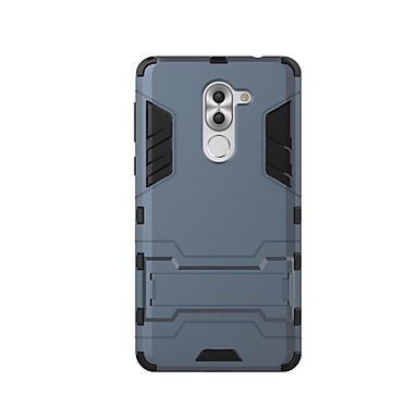 Etui Til Huawei Støtsikker / med stativ Bakdeksel Ensfarget Hard PC til Honor 6X / Mate 9 / Mate 9 Pro
