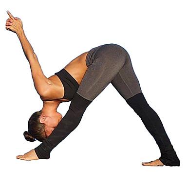 Mulheres Patchwork Calças de Yoga Esportes Clássico, Moderno Lycra Calças Corrida, Fitness, Ginásio Roupas Esportivas Respirável, Compressão, Redutor de Suor Com Stretch / Inverno