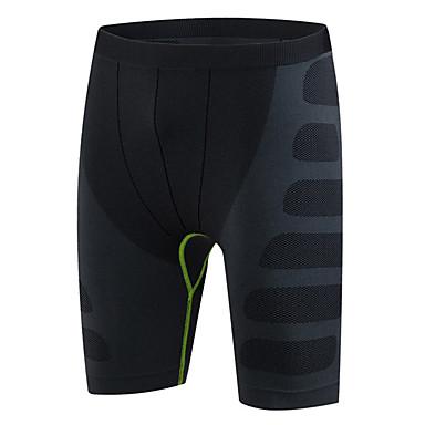 Herrn Laufschuhe / Kurze enge Laufhosen - Rot, Grün, Blau Sport Modisch Shorts / Laufshorts Sportkleidung Rasche Trocknung,