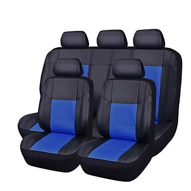 رخيصةأون اكسسوارات السيارات الداخلية-CARPASS أغطية مقاعد السيارات أغطية المقاعد البيج / رمادي / ازرق فاتح جلد PU الأعمال التجارية من أجل عالمي