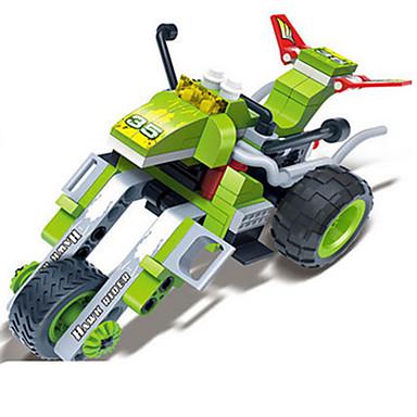 Juguete Coche Pcs Moto De Caballo Coches Carreras Manualidades Construcción Set Bloques Juguetes 95 Creativo Vehículos 1FKuTlJc35