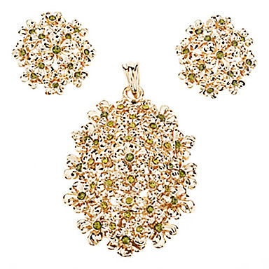 Dame Seturi de bijuterii Japan and Korea Style Sweet Style Stil European Modă Petrecere Ocazie specială Zi de Naștere Cristal Agat Jadeite
