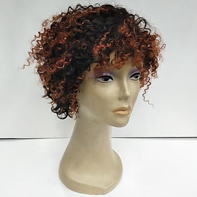 Přírodní vlasy Paruka Brazilské vlasy Afro Velké vlny Příroda černá Paruka  130% Hustota vlasů s 8e8a7dd5c8
